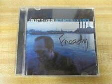 Blue Days Black Nights by Freedy Johnston (CD, Jul-1999, Elektra,  autographed