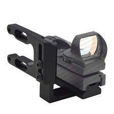 Mini CNC gefräst Bow Sight Mount Red Dot Laser Reflexvisier Umfang Halterung