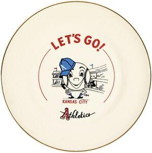 Late 1950s Kansas City Athletics Baseball Plate