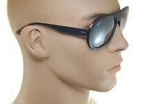 RayBan SCUDERIA FERRARI RB4310M F602/H2 POLARIZED Sunglasses BLACK SILVER MIRROR