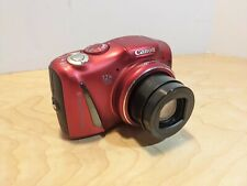Canon PowerShot SX150 IS 14.1MP Digital Camera - Red w/ USB Cable
