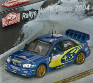 1/43 Vitesse 43105 L/E Subaru Impreza WRC 2004 Monte Carlo #1 Solberg & Mills