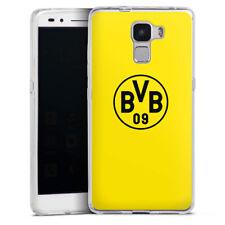 Huawei Honor 7 Silikon Hülle Case Handyhüle - BVB Gelb
