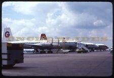 Original Kodak Kodachrome Airplane Slide Geminiair LTN London Luton Airport UK