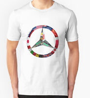 Lewis Hamilton Mens T shirt Triple World Champion Kids T shirt  White