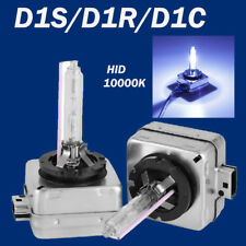 2X D1C/D1R/D1S 35W 10000K Cool Blue HID Xenon Headlight OEM Replacement Bulbs