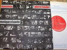 SB 6849 Boulez Domaines / Masson / Ensemble Musique Vivante