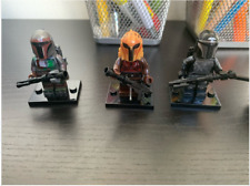3 Pcs Star War real image Mandalorian Naves 9 Kylo Rened Minifigures Lego MOC