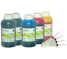 5x250ml Refill ink kit for HP 920 920XL OfficeJet 6000 6500a 6500a Plus 7500a