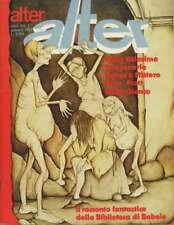 rivista ALTER ALTER LINUS - Anno 1982 numero 1