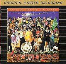FRANK ZAPPA THE MOTHERS OF INVENTION We're Only in It for the Money GOLD MFSL CD