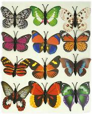 Set di 12 Magneti Frigo Farfalla-BELLISSIMA e insolito regalo