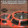 100% New & Genuine HELLA Supertone Dual Horn Set w Relay for UTE 4x4 Red Color
