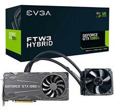 EVGA FTW3 GeForce GTX 1080 TI HYBRID 11 GB GPU, 11G-P4-6698-KR