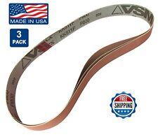 """1"""" x 30"""" Sanding Belts, 3 pack, 800 grit, AL Oxide, Knife Blade Makers / Making"""