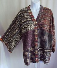 Z53 Sacred Threads Nothing Matches Patched Kimono Top Medium