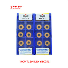 ZCC.CT 10P RCMT1204MO YBC251 CNC Carbide Milling Insert For steel