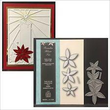 Christmas dies POINSETTIA BLOOM TRIO metal die Memory Box 98995 Holidays,flowers
