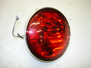 1986 Harley Davidson Used Lot of 5 Flat Turn and Run Amber Lens Up Lens