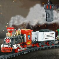 New Rechargeable remote control electric smoke simulation model steam trains UK