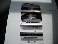 DANBURY MINT 1956 LINCOLN PREMIERE CONVERTIBLE 1/24 SCALE PAPER WORK ONLY NO CAR