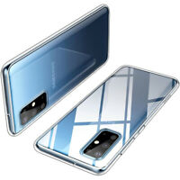 Samsung Galaxy S20 Plus Hülle Silikon Schutzhülle Case Clear Cover Transparent