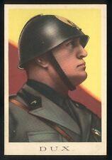 Cartolina - DUX - Benito Mussolini Duce Fascismo Militaria - NVG anni 30 / 40