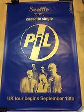Very Rare PIL Punk promo subway poster Public Image Ltd. John Lydon Sex Pistols