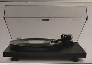 Crosley C6 2 Speed Turntable Bluetooth Wireless Play Black C6B-BK + 3 Vinyls