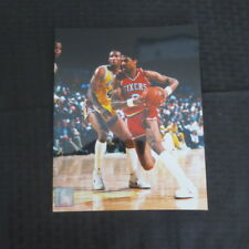Julius Erving 8x10 Color Photo 76ers Photofile NBA Licensed Lot of 15