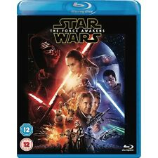 Star Wars 7 The Force Awakens 2016 & 2 Disc Blu Ray 8717418480882