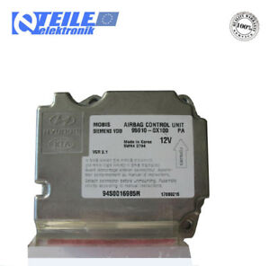Airbagsteuergerät / ECU airbag Hyundai i10,  95910 - 0X100 - Siemens 5WK43794
