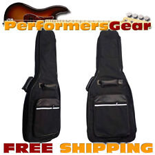 Perfektion Deluxe Heavy Duty Electric Guitar 10mm Padded Gig Bag  NEW
