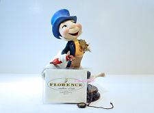 Walt Disney Giuseppe Armani Jiminy Cricket 1995 Signed COA Made in Italy