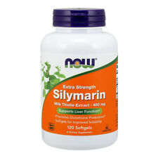 NOW Foods - Silymarin Milk Thistle Extract, Extra strength - 120 sgels - cardo
