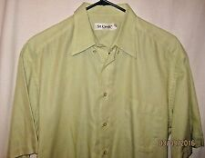 St. Croix Size L Short Sleeve Button Up Casual Shirt