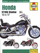 2313 Haynes Honda VT1100 Shadow (1985 - 2007) Workshop Manual