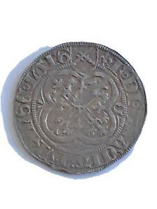German States: Meissen Friedrich II 1 Schildgroschen Silver Leipzig