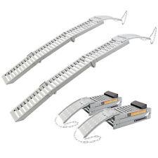 2x Rampe di Carico Rampe di Accesso Guide di Accesso 1600 kg pieghevoli