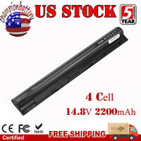 40Wh M5Y1K Laptop Battery For Dell Inspiron 3451 5451 5551 5555 5558 5559 5755
