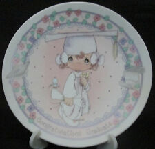 Precious Moments Congratulations Graduate Porcelain Collector Plate Enesco Boxed