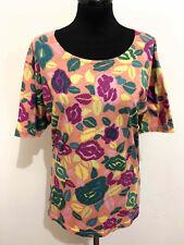 LAURA BIAGIOTTI VINTAGE '80 Maglietta Maglia Donna Woman T-Shirt Sz.L - 46