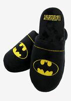 Batman Mule Slippers Anti Slip Soles UK Size 8 - 10 BNIB