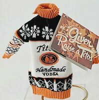 TITO's HANDMADE VODKA SWEATER BOTTLE KOOZIE NEW WITH TAGS PROMOTION COLLECTIBLE