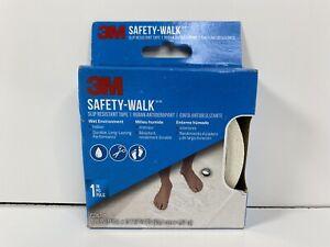 """3M 7640 Safety-Walk Tub & Shower Tread Tape, 1 x 180"""",White"""