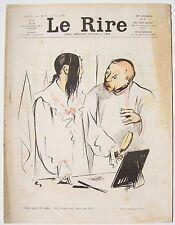 Le Rire #7 21 mars 1903 Hermann Paul, Carlègle, Gerbault