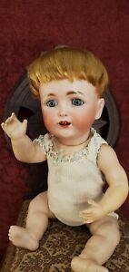 Antique German Bisque Socket Head JDK Kestner 257 Marked German Baby Body Cute!