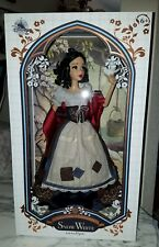 "Disney Store 2017 Snow White 17"" Doll Limited Edition 1 of 6500 made"