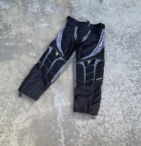 Black/Grey Dye Padded Paintball Pants Mens Medium Core Division