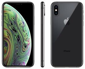 Apple iPhone xs-64gb 256gb 512gb - Unlock Smartphone-Space Silver